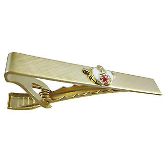 Gold Plated Shriners Logo Tie Clip Clasp Shrine