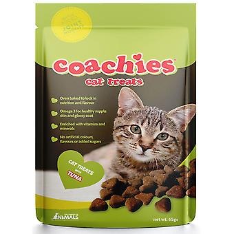 Coachies Cat Treats Tuna Joint Mobility 65g (Pack of 12)