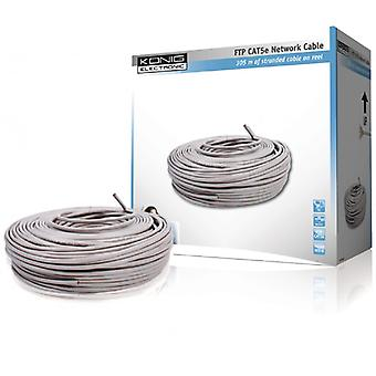 König-FTP, CAT5E network cable on the reel
