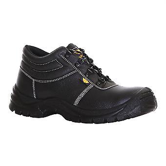 Slimbridge Thum tamaño 12 botas de seguridad, negro
