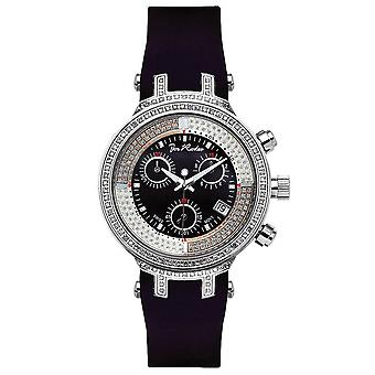 Joe Rodeo diamond ladies watch - MASTER LADY silver 0.9 ctw