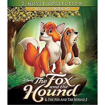Fox & the Hound: 2 Movie Collection [Blu-ray] USA import