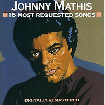 Johnny Mathis - 16 Most Requested Songs [CD] USA import