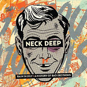 Neck Deep - Rain in July/a History of Bad Decisions [CD] USA import