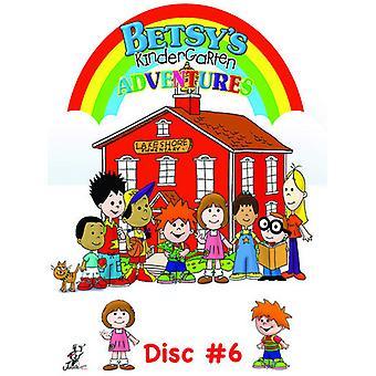 Betsys børnehave eventyr 6 [DVD] USA importerer