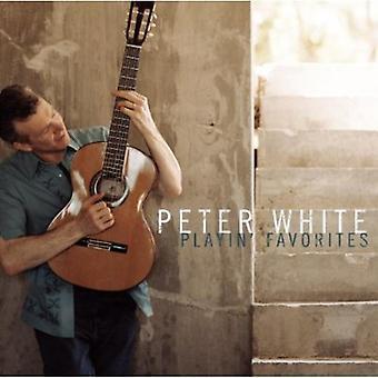 ピーター ・ ホワイト - playin ' お気に入り [CD] USA 輸入