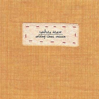 Lyndsay Taylor - Writing Lines Unseen [CD] USA import
