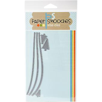 Paper Smooches Die-Snow Drifts DED359