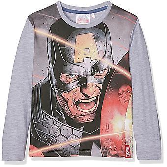 Boys Marvel Avengers T-Shirt / Top Long Sleeve