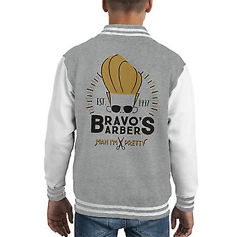 Bravos peluqueros Varsity Jacket de Johnny Kid