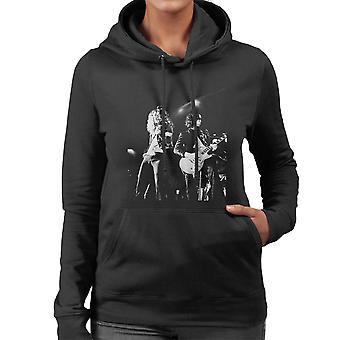 LED Zeppelin Jimmy Page Robert Plant Cardiff Capitol Theater 1972 Damen Sweatshirt mit Kapuze