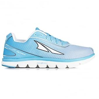 One 2.5 Womens Zero Drop Road Running Shoes Light Blue
