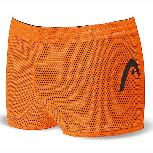 Head Unisex Double Power Reversible Drag Shorts - Black/Orange