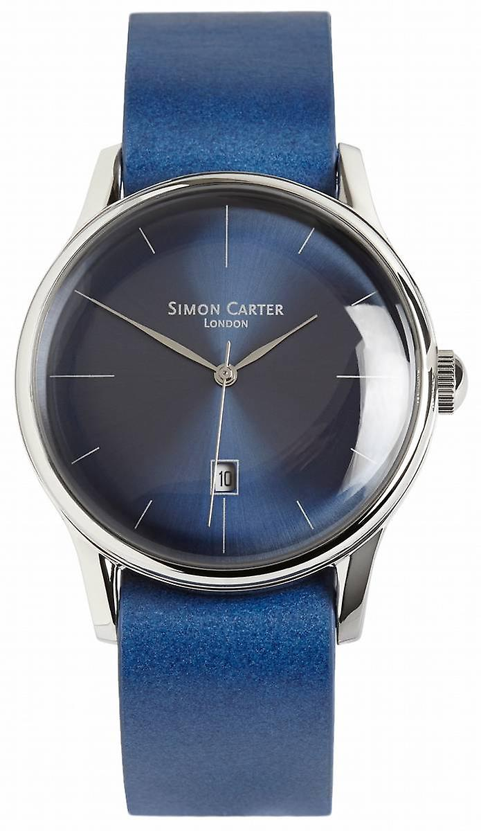 Simon Carter Watch - Blue