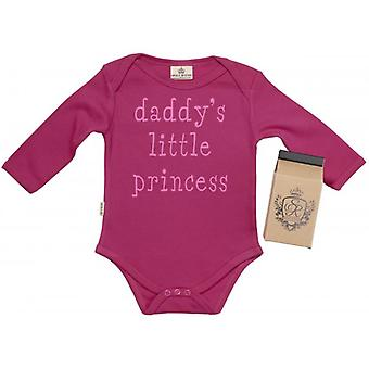 Spoilt Rotten Daddy's Little Princess Babygrow 100% Organic Cotton