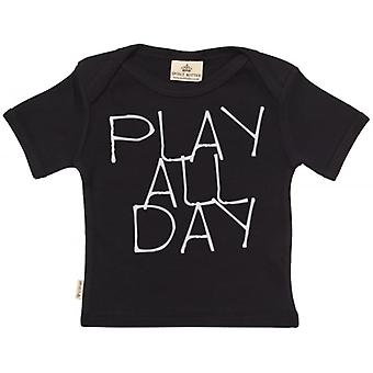 Spoilt Rotten Play All Day Short Sleeve Baby T-Shirt