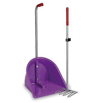 Gaun Plastic dustpan With Rake (Horses , Stable , Stable Tools , Pickers)