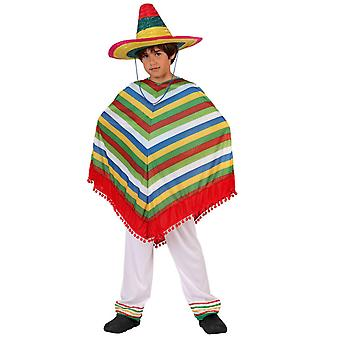 Women costumes Children Poncho and trousers Mexican child s