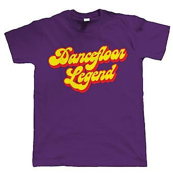 Vectorbomb, Dance Floor leggenda, Mens Funny t-shirt (S alla 5XL)