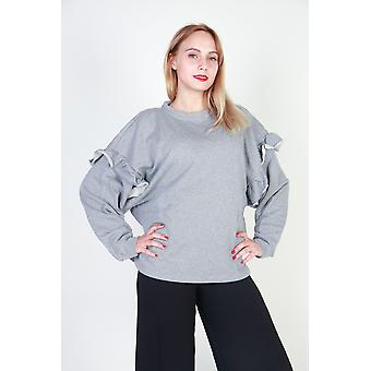 Pinko Sweatshirts Women Grey