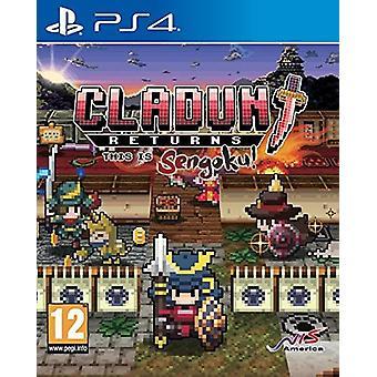 Cladun returnerer: Dette er Sengoku! PS4 spil