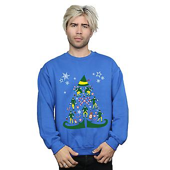 Elf Men's Christmas Tree Sweatshirt