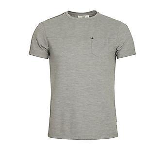 883 Police Bradley Jersey T-Shirt Marl Grey