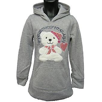 Teddy Girls Hoodies Fleece Jumper
