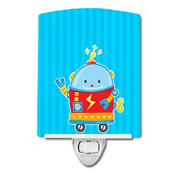 Carolines Treasures  BB9084CNL Robot #2 Ceramic Night Light