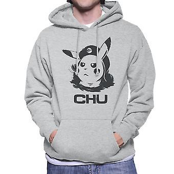 Viva La Pokemon Evolutions Revolution Parody Men's Hooded Sweatshirt