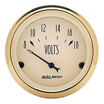 Auto Meter 1592 Golden Oldies Voltmeter Gauge