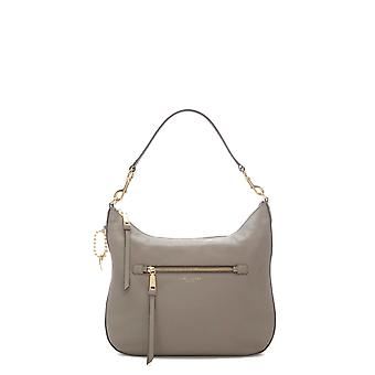 Marc Jacobs women's M0008895213 grey leather shoulder bag