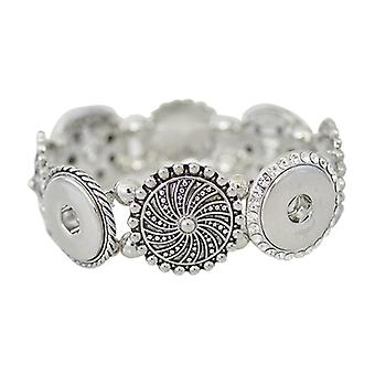 Stainless Steel Bracelet For Click Buttons Kb0209