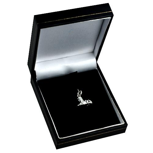 Silver 10x16mm Sphinx pendant or charm