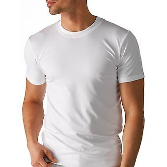 Mey 46103-101 Men's Dry Cotton White Solid Colour Short Sleeve Top