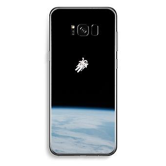 Samsung Galaxy S8 Plus Transparent Case (Soft) - Alone in Space