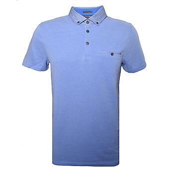 Ted Baker Mens blauw Super Polo Shirt