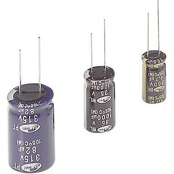 Electrolytic capacitor Radial lead 5 mm 10 µF 400