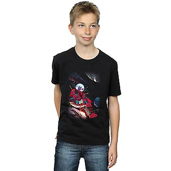 Marvel Boys Deadpool Astronaut T-Shirt