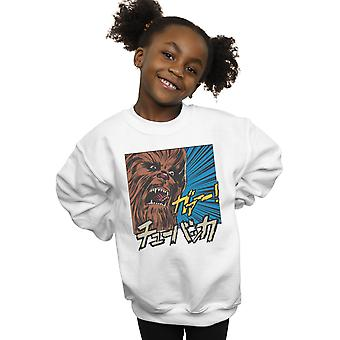 Star Wars Girls Chewbacca Roar Pop Art Sweatshirt