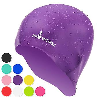 ProWorks Swimming Cap - Purple