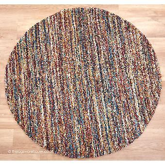 Círculo de Dunya Multi alfombra