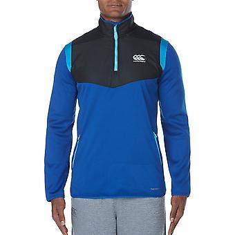 Canterbury Clothing Mens Thermoreg Spacer Fleece 1/4 Zip Run Jacket