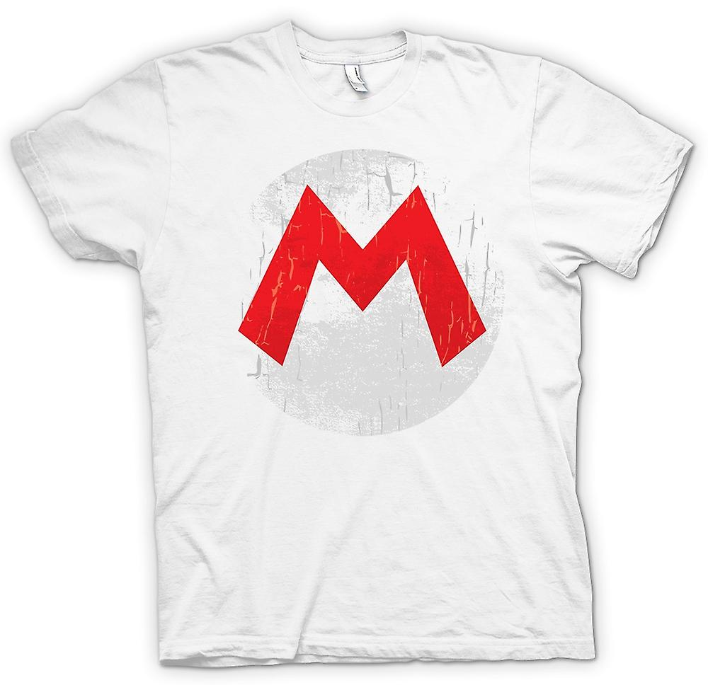 Womens T-shirt - Mario Logo - Gamer