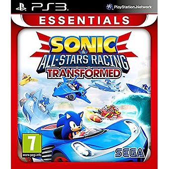 Sonic and All Stars Racing Transformed Essentials (PS3)