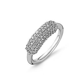 Orphelia plata 925 anillo superior Pave ZR circonio-3809