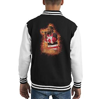 Kendrick Lamar British Summer Time Festival Hyde Park 2016 Kid's Varsity Jacket