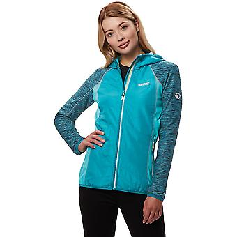 Regatta Womens/Ladies Harra II Marl Polyester Hooded Softshell Jacket