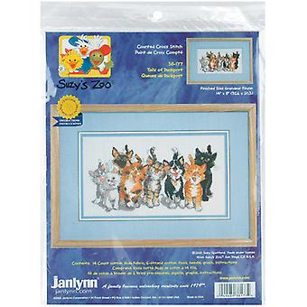 Suzy's Zoo Tails Of Duckport Counted Cross Stitch Kit-14