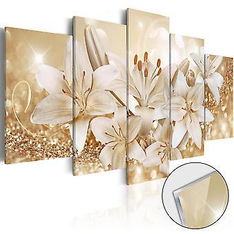 Akryl Print - Golden buket [glas]